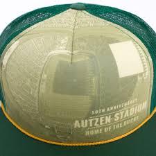 Autzen Stadium Map Forest Foamie Trucker With Autzen Stadium 50 Years Adj Hat