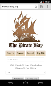 the pirate bay launches mobile site to take torrents to your