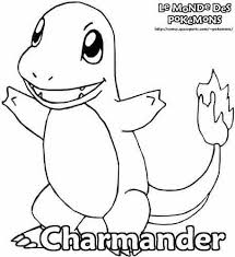 pokemon coloring pages images charmander pokemon coloring page birthday ideas pinterest