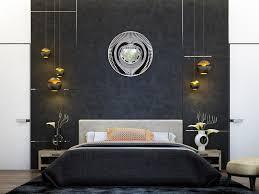 chevet chambre adulte décoration chambre adulte textures et luminaires