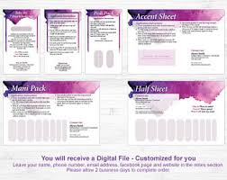 Jamberry Sample Cards 7 Day Challenge Sample Card Direct Sales Business Card