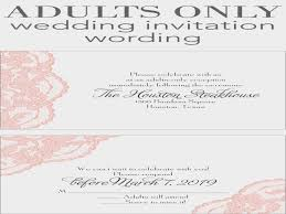 adults only wedding invitation wording adults only wedding invitation wording invitations by how