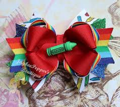 back to school hair bows 20 best school hair bow images on toast