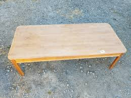 Narrow Coffee Table by 7726 Simple Long U0026 Narrow Coffee Table U2013 Jennijunk