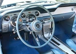 ford mustang 1967 interior arcadian blue 1967 ford mustang gta fastback mustangattitude com