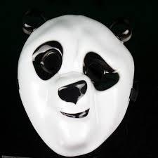 carnival masks kungfu panda television theme mask plastic carnival mask