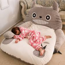 mattresses folding couch bed totoro mattress couch cute cartoon
