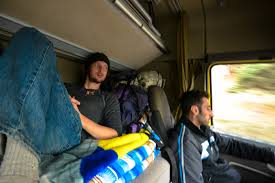 Georgia travel partner images Hitching a ride versus riding a bus gap year jpg