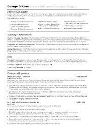 html resume examples digital creative director resume samples non profit executive advertising art director resume example free resume art director interactive art director resume example advertising art