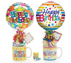 gift mugs with candy happy birthday premade gift assortment includes ceramic mug candy