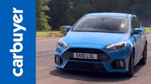 ford focus carbuyer ford focus rs hatchback 2016 review carbuyer