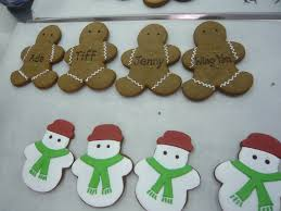 sift personalized christmas cookie party favors