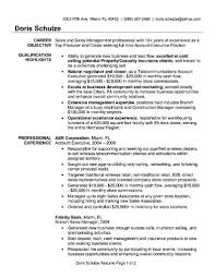 account executive resume format it resume cover letter sample