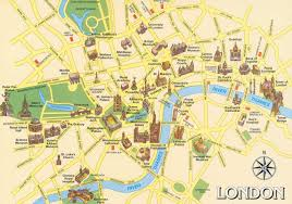 Chelsea Map Tourist Map Of London Map Collection