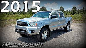truck toyota 2015 2015 toyota tacoma trd off road double cab youtube