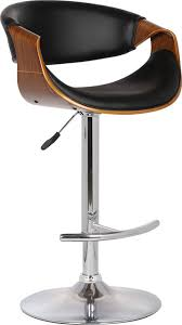 butterfly adjustable swivel barstool contemporary bar stools