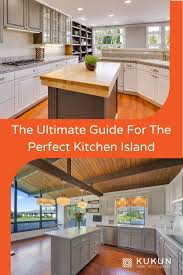 what size should a kitchen be to an island kitchen island size guidelines dimensions standard size