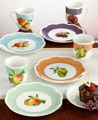 fruit pattern dinnerware new lenox orchard in bloom dinnerware