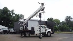international bucket trucks boom trucks in michigan for sale