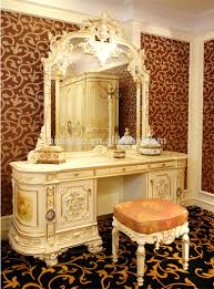 Antique Vanity With Mirror And Bench - dressers shop the luxurious brittany bone white vanity table