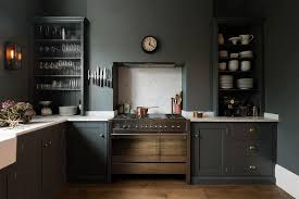 grey kitchen cabinets wood floor kitchens black navy and grey kitchen ideas