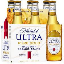 michelob golden light alcohol content michelob ultra pure gold superior light beer 6 12 fl oz bottles