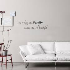 online get cheap love letters quotes aliexpress com alibaba group art lettering quotes wall stickers the love of a family makes life beautiful vinyl mural decals