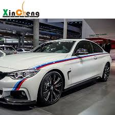 bmw 3 or 5 series vehicle waist line drawing flowers modified car stickers