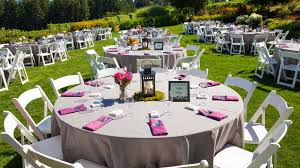 Garden Wedding Reception Decoration Ideas Outdoor Wedding Reception On A Budget Wedding Decor
