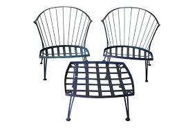 Vintage Woodard Patio Furniture Patterns by Vintage Metal Patio Chairs