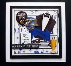 donna u0027s doodles 21st birthday card brother aged birthday