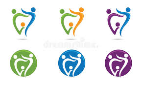dental family logo stock vector illustration of clinic 54260950
