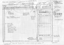 25 examples of wireframes and mockups sketches through my eyes