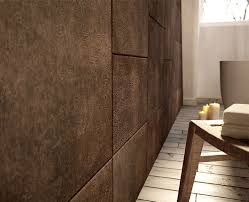 leather walls lapelle as a second skin covering interior floors and walls
