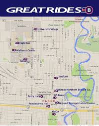 Map Of Fargo What U0027s Awesome About Fargo U0027s 1st Bike Share Program Fargo Monthly