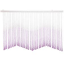 beautiful home decor acrylic beaded valance curtain door screen