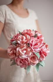 paper flower bouquet diy paper wedding bouquet