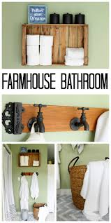 Rustic Farmhouse Bathroom - rustic farmhouse bathroom ideas the country chic cottage