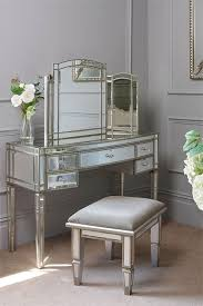 folding dressing table mirror minimalist antoinette toughened mirror dressing table curved