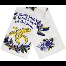 scotch green and white stripe dish towel kitchen towels kitchen bar housewares sourpuss clothing