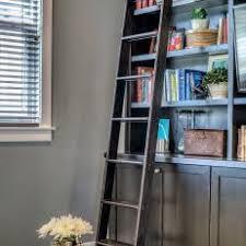 Sliding Bookshelf Ladder Photos Hgtv
