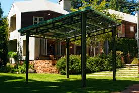 Power Awning Prefab Solar Awning Provides Outdoor Shade And Solar Power