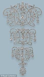 Wedding Gifts Queen Elizabeth Redesign It Queen Mary U0027s Stomacher The Court Jeweller