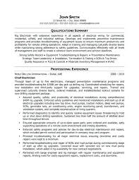 Professional Resume Format For Fresher by Sample Resume For Iti Electrician Electrician Resume Templates