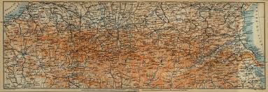 Pyrenees Mountains Map The Pyrenees 1914 Full Size