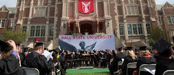 Ball State Parking Map by Commencement Ball State University