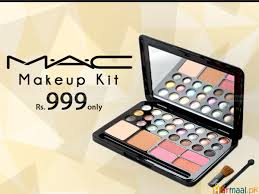 ultra shimmer 24 color eyeshadow mac makeup kit just rs 999 instead of rs 1600 free