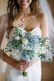 hydrangea wedding bouquet light blue hydrangea wedding bouquets oosile