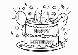 birthday cake coloring pages coloring pages coloring pages