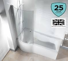 Bathtub Panel by P Shape Shower Screen Ebay